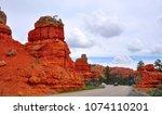 dixie national forest  utah  usa   Shutterstock . vector #1074110201