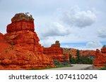 dixie national forest  utah  usa   Shutterstock . vector #1074110204