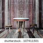 interior grunge room. | Shutterstock . vector #107411501