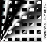 grid of rectangles on a gray... | Shutterstock . vector #1074181517