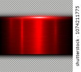 background red metal texture... | Shutterstock .eps vector #1074211775
