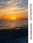 Amazing Sea Sunset  The Sun ...