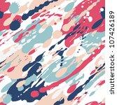 Seamless Color Splash Pattern....