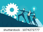 group of business people...   Shutterstock .eps vector #1074272777