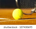tennis ball | Shutterstock . vector #107430695