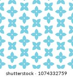 abstract floral geometric... | Shutterstock .eps vector #1074332759