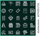 set of 25 other outline icons...   Shutterstock .eps vector #1074351731
