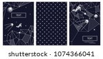 the cover design of the... | Shutterstock .eps vector #1074366041