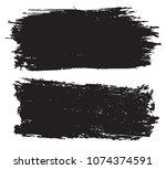 vector grunge banners.grunge... | Shutterstock .eps vector #1074374591