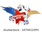 football background place for... | Shutterstock .eps vector #1074412394