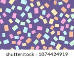 seamless pattern of the... | Shutterstock .eps vector #1074424919