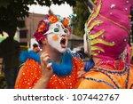 seattle  wa   june 16  2012  an ... | Shutterstock . vector #107442767