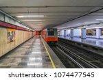 mexico city   july 19  2015  la ... | Shutterstock . vector #1074477545