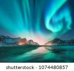 Aurora Borealis In Lofoten...