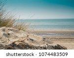 dune landscape  beach burgh...   Shutterstock . vector #1074483509