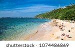 unawatuna  sri lanka  jan 4 ...   Shutterstock . vector #1074486869
