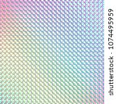hologram sticker beautiful... | Shutterstock .eps vector #1074495959