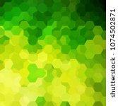 background of green  yellow... | Shutterstock .eps vector #1074502871
