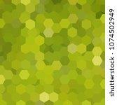 abstract hexagons vector... | Shutterstock .eps vector #1074502949