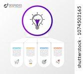 infographic design template.... | Shutterstock .eps vector #1074503165