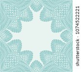 decorative vector frame ...   Shutterstock .eps vector #1074522221