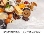 healthy food nutrition dieting... | Shutterstock . vector #1074523439