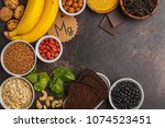 healthy food nutrition dieting... | Shutterstock . vector #1074523451