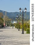 thassos  greece   april 5  2016 ...   Shutterstock . vector #1074530555
