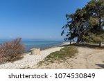thassos  greece   april 5  2016 ...   Shutterstock . vector #1074530849