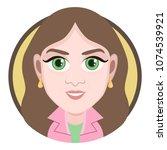 cartoon character  vector...   Shutterstock .eps vector #1074539921