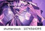 polygonal violet background....   Shutterstock . vector #1074564395