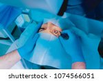laser vision correction. a... | Shutterstock . vector #1074566051