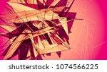 pink beautiful illustration...   Shutterstock . vector #1074566225