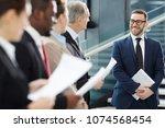 successful businessman in...   Shutterstock . vector #1074568454
