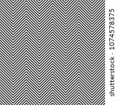 zigzag stripes seamless pattern.... | Shutterstock . vector #1074578375