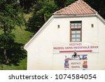 bran  romania   september 7 ... | Shutterstock . vector #1074584054