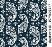seamless pattern based on... | Shutterstock .eps vector #1074609347