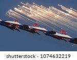 batajnica airbase  serbia  ... | Shutterstock . vector #1074632219