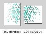 dark greenvector background for ...