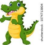 vector illustration of cute...   Shutterstock .eps vector #1074713804