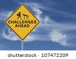road sign showing the... | Shutterstock . vector #107472209