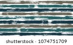 creative watercolor brush... | Shutterstock .eps vector #1074751709