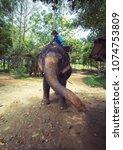 ko chang   thailand   april...   Shutterstock . vector #1074753809