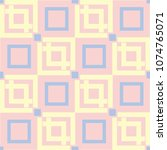 geometric seamless pattern.... | Shutterstock .eps vector #1074765071