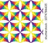 geometric seamless pattern of...   Shutterstock .eps vector #1074786635