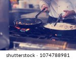 Master Chef Preparing Food ...