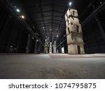 milan  italy   circa april 2018 ...   Shutterstock . vector #1074795875