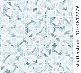 camouflage editable pattern of... | Shutterstock .eps vector #1074812279