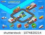 distribution service ...   Shutterstock .eps vector #1074820214