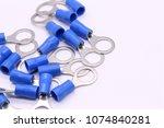 solderless terminals electrical ...   Shutterstock . vector #1074840281
